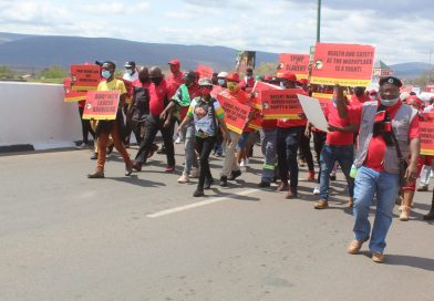 Cosatu protest for improvements in South African economy